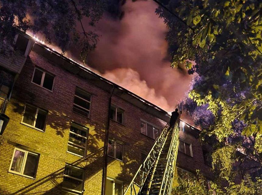 Пожежа на Гагаріна, 11 в м. Бровари
