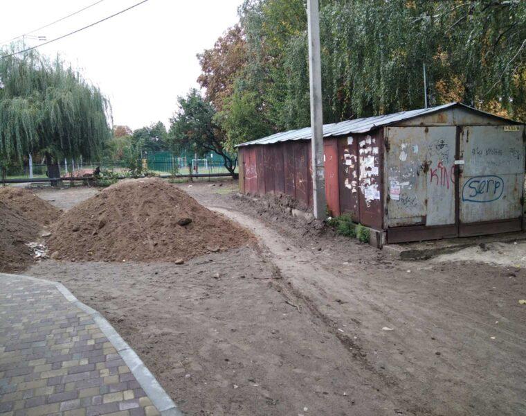 Демонтовано гараж по вул. Олімпійська, 7А