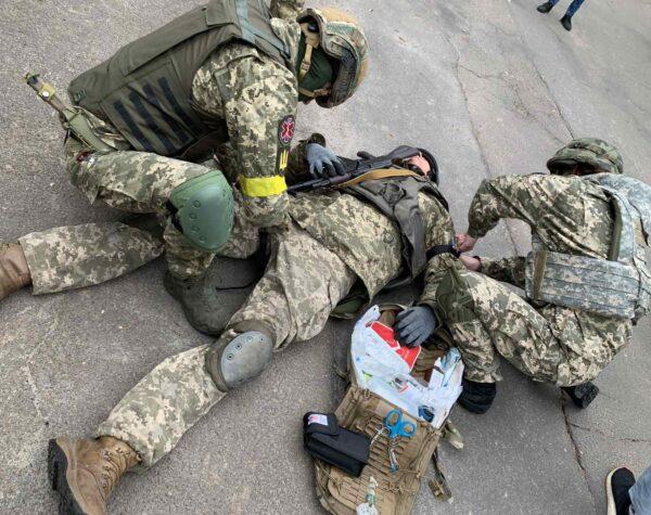 Навчання загонів територіальної оборони у Броварському районі
