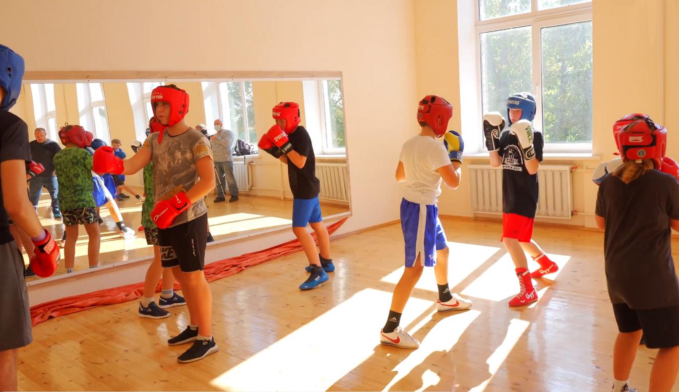 Секція боксу села Требухова